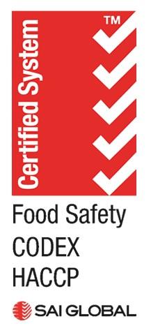 sai global food safety codex haccp lgo