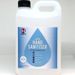 hand sanitiser 2.5L